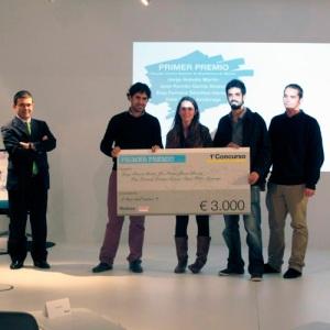 """Ganadores del Primer Concurso para Estudiantes de Arquitectura """"Construye el Aula del Futuro"""" - Foto: Steelcase"""