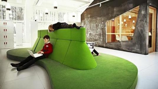 Centros docente de Vittra, Suecia, proyectado por el estudio Rosan Bosch - Foto: ABC.es