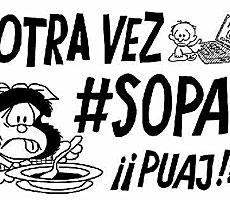 ¡Basta de #SOPA!