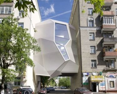 Parasite Office en Moscú. Za Bor Architects. Foto: www.eleconomista.es