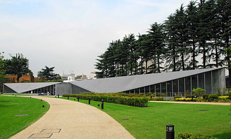 21_21 Design Sight, is a signature work by Tadao Ando, and Japan's first design museum. Photograph: Capone~ on Flickr / some rights reserved