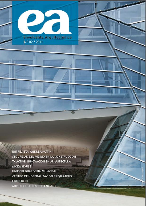 "Portada del segundo número de ""Envolvente Arquitectónica"""