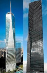 Los rascacielos citados en el artículo - expansión.com