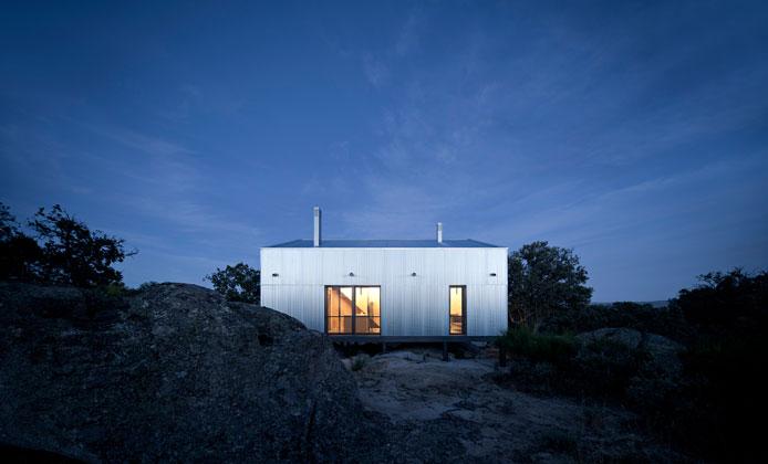 La Casa Garoza, proyecto del estudio Herreros Arquitectos. Foto: Web Herreros Arquitectos