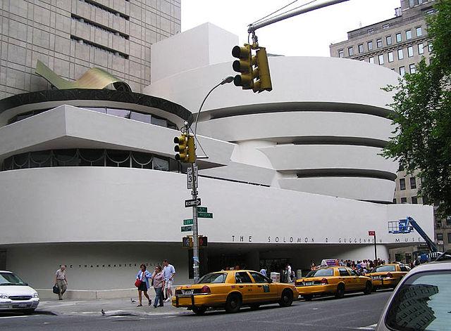 Museo Solomon R. Guggenheim, Nueva York - Proyectado por Frank Lloyd Wright (Foto: Wikipedia)