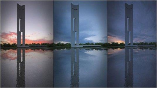 La Torre Eólica que se presentó el jueves 22 de marzo. FOTO EPDA - www.elperiodicodeaqui.com