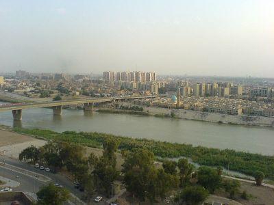 Norte de Bagdad junto al río Tigris. Wikipedia