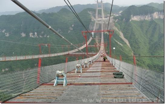 Puente colgante de Aizhai - rastreadordenoticias.com