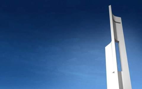 Eólica Wind Tower Una recreación de cómo será 'Eólica'cuando se construya. (Fran Silvestre Arquitectos) 20minutos.es