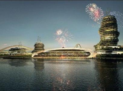 Florentino Pérez presenta el proyecto 'Real Madrid Resort Island' - As.com