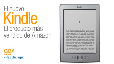"""Kindle, el e-reader más vendido del mundo - comprar en Amazon.es haciendo """"click"""""""