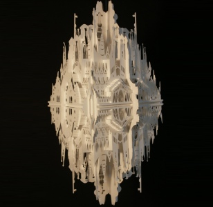 'Reflection on Sagrada Familia' image © Ingrid Siliakus -  Foto: www.designboom.com