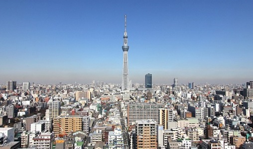 Tokyo Sky Tree will open on May 22, 2012 - Foto: www.japan-guide.com