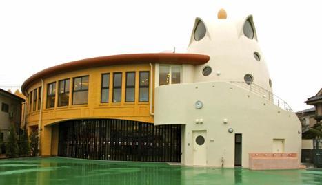 Imagen de la guardería japonesa inspirada en Antoni Gaudí, obra del arquitecto Hiroya Tanaka. :: EFE -  www.diariodenavarra.es