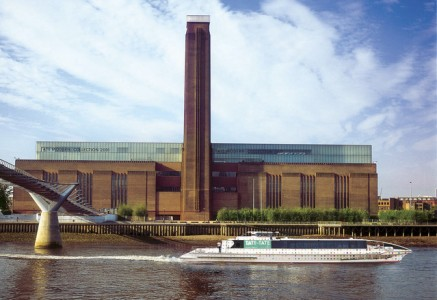 "The Swiss have proven that architectural prowess needs no translation, with Jacques Herzog and Pierre De Meuron creating the ""Bird's Nest"" for the Beijing Olympics and converting a London power plant into the Tate Modern Museum, seen here. Source: Tate Press Office via Bloomberg"