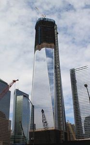 El One World Trade Center en marzo de 2012. Wikipedia