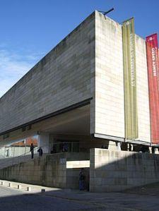 Centro Gallego de Arte Contemporáneo (Centro Galego de Arte Contemporánea), CGAC. Wikipedia