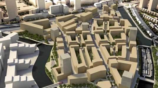 Barrio IKEA en Londres  El terreno de Strand East supera las 10 hectáreas. (IKEA) 20minutos