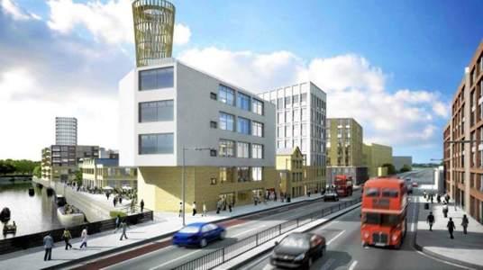 Barrio IKEA en Londres - El de Strand East será un barrio para 6.000 personas. (IKEA) 20minutos.es