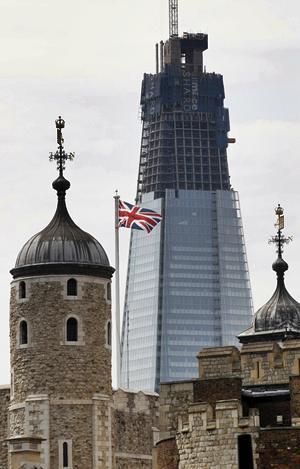MODERNIDAD. El moderno rascacielos contrastará con las edificaciones clásicas de la capital británica. (Foto: Archivo / EL UNIVERSAL )