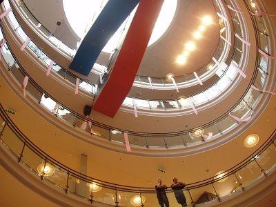 Kamppi Center, Helsinki, 2003-2006, proyecto de Juhani Pallasmaa Architects