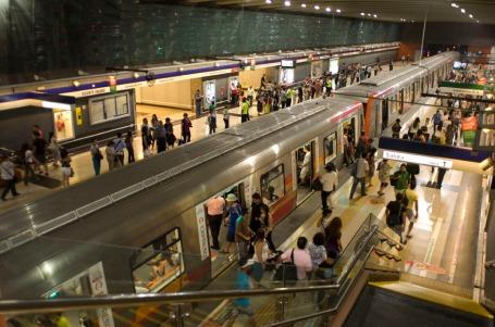 Estación Vicente Valdés en línea 4 - Imagen: Cortesía Arup