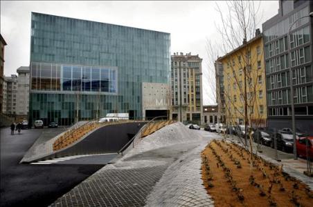 Vista de los exteriores del Museo Nacional de Ciencia y Tecnología (MUNCYT). / EFE
