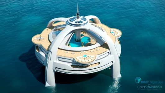 Project Utopia floating island - www.gizmag.com