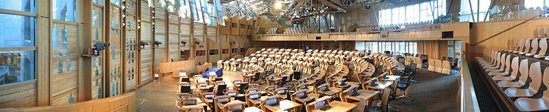 Debating chamber of the Scottish Parliament - Wikipedia