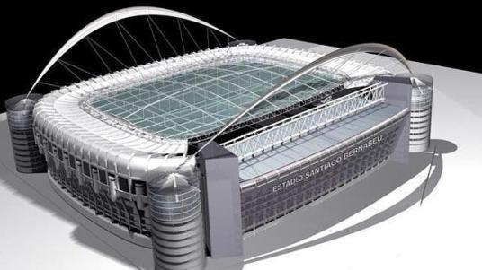 LAMELA.COM Proyecto del estudio Lamela para la cubierta del Santiago Bernabéu - ABC.es