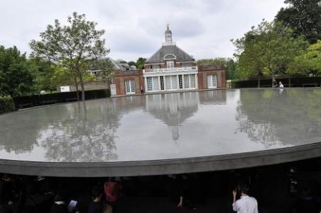 Vista del pabellón de la galería Serpentine de Londres.| Efe/Andy Rain - ElMundo.es