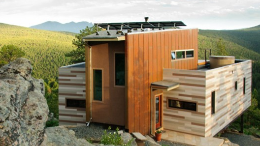 Studio H:T's Shipping Container House is, unsurprisingly, a house made partially from shipping containers - and one that operates entirely off-grid - Gizmag