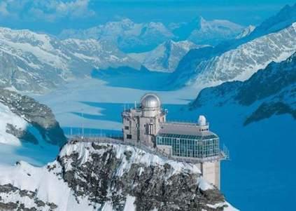 Jungfrau  El tren acaba en la llamada esfinge. (TURISMO DE INTERLAKEN) - 20minutos.es
