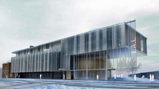 Laurentian University School of Architecture - www.canadianarchitect.com