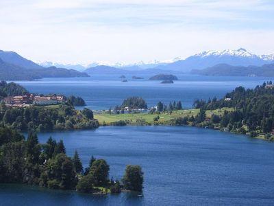 Paisaje de los alrededores de Bariloche - Wikipedia