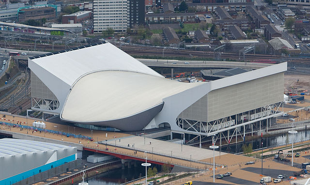 The London Aquatics Centre in April 2012 - Wikipedia
