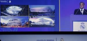 Maquetas Santiago Bernabéu Florentino Pérez explica el proyecto de futuro estadio Santiago Bernabéu. (EFE) 20minutos.es
