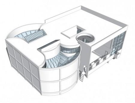 Pavillon de L'esprit Nouveau' Un ejemplo de vivienda que Le Corbusier presentó en la Exposición Internacional de Artes Decorativas de París en 1925. La ausencia de adornos fue duramente criticada ('Le Corbusier Redrawn' - Princeton Architectural Press - 20minutos.es