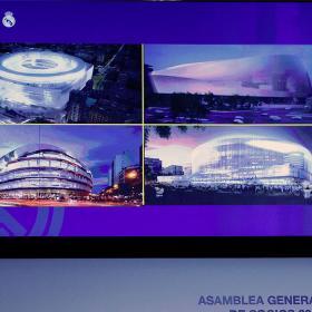 Cuatro Proyectos para el estadio Bernabéu del Siglo XXI, presentados hoy en Asamblea General - Imagen: As.com