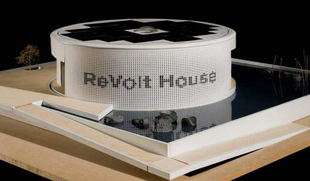 Solar Decathlon Europe 2012  La 'Revolt house' de la Technical University de Delft. (SDE) 20minutos.es