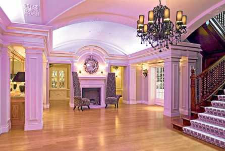 The modernised entrance hall Photo: PAUL GROVER - www.telegraph.co.uk
