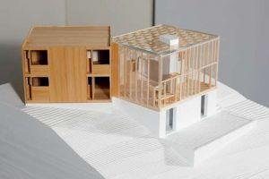 Louis Kahn. El arquitecto se basó en dos cubos para diseñar esta casa, que fue construida en Estados Unidos entre 1960 y 1967. La Voz