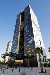 Fachada del Renaissance Barcelona Fira Hotel - Foto Cortesía HC Fira (Prensa)