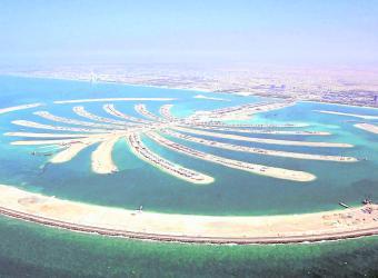 Islas artificiales en Dubai - portafolio.co