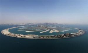 """En una imagen de archivo, el complejo de islas flotantes artificiales de Dubai """"The Palm Jumeirah"""".  REUTERS/Jumana ElHeloueh"""