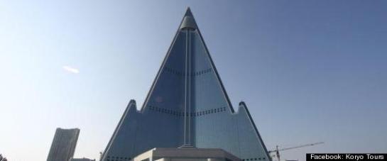 El Ryugyong Hotel ha estado en construcción desde 1987, Corea del Norte - El HuffPost