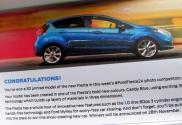 La postal de felicitación y comentarios incluida en la cajita del envío