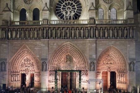 La catedral acaba de cumplir 850 años.| Afp - ElMundo.es