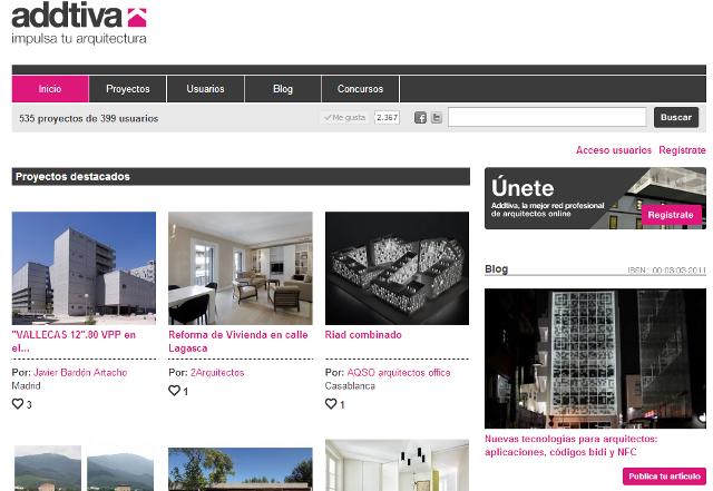 addtiva.com - impulsa tu arquitectura | Red Social