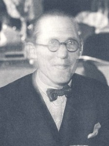 Charles-Édouard Jeanneret-Gris known as Le Corbusier, circa1933 - Den moderna stadens födelse / Wikipedia